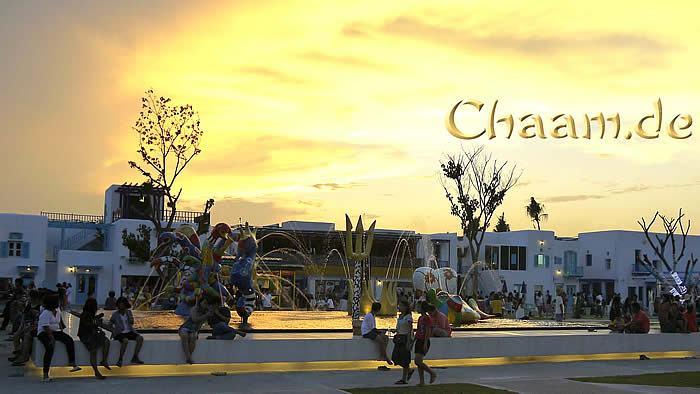 Sonnenuntergang Cha-Am
