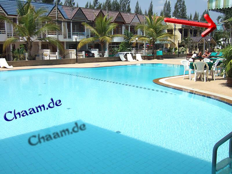 Swimmingpool Cha-Am Sport Village Thailand