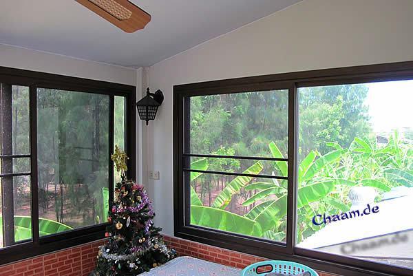 Sommergarten in Ihrem Ferienhaus Cha-Am Thailand