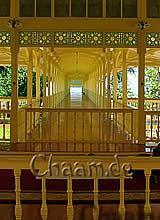 Sommerresidenz Palast Teakholz Rama VI