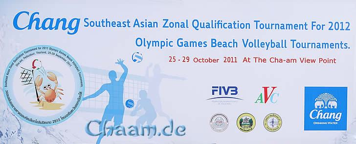 Southeast Asian Zonal Qualification Tournament 2012 Olympic Games Beach Volleyball