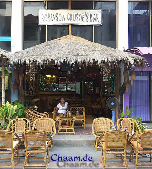 Robinson Crusoe�s Bar in Cha-Am